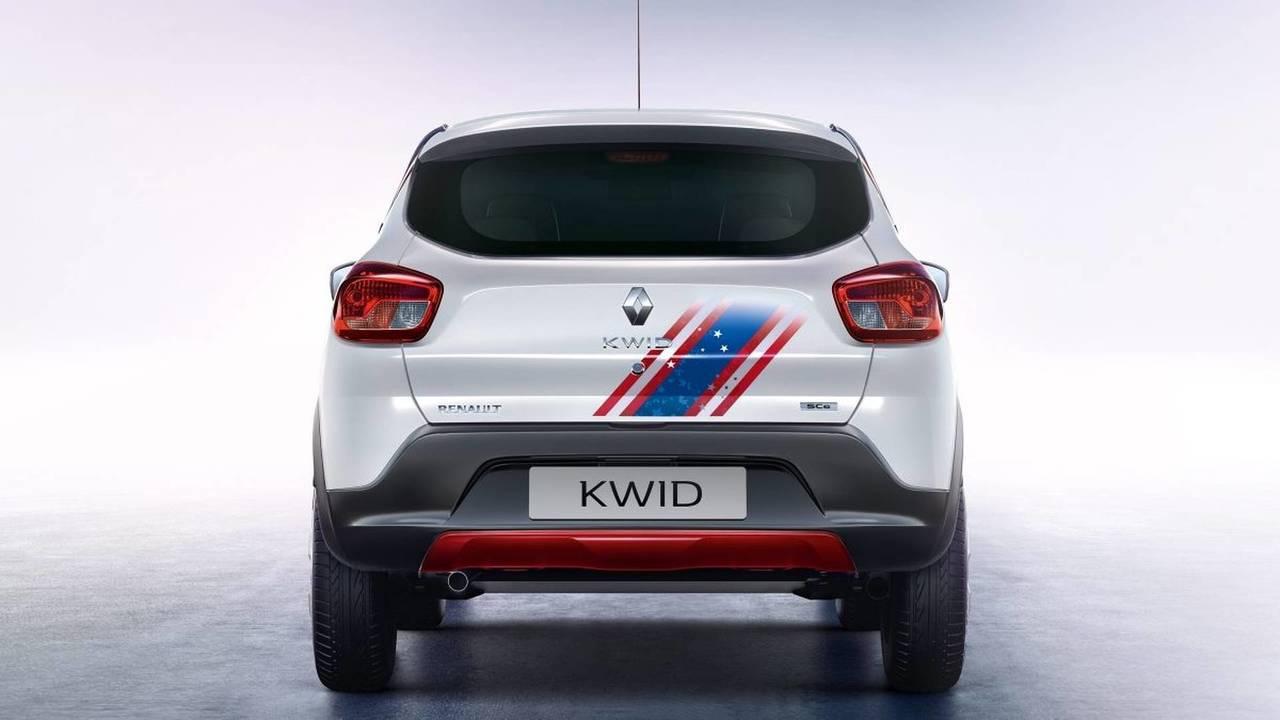 Renault Kwid Iron Man ve Captain American versiyonları