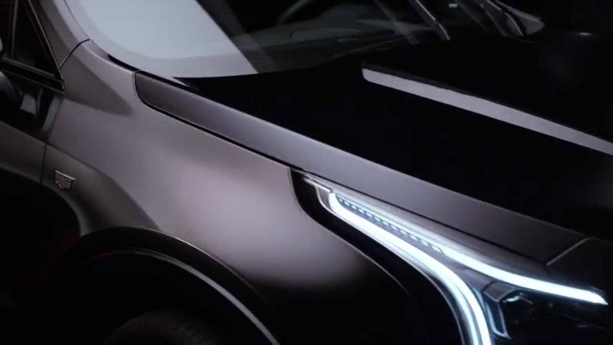 All-original 2019 Cadillac XT4 teased a month ahead its debut