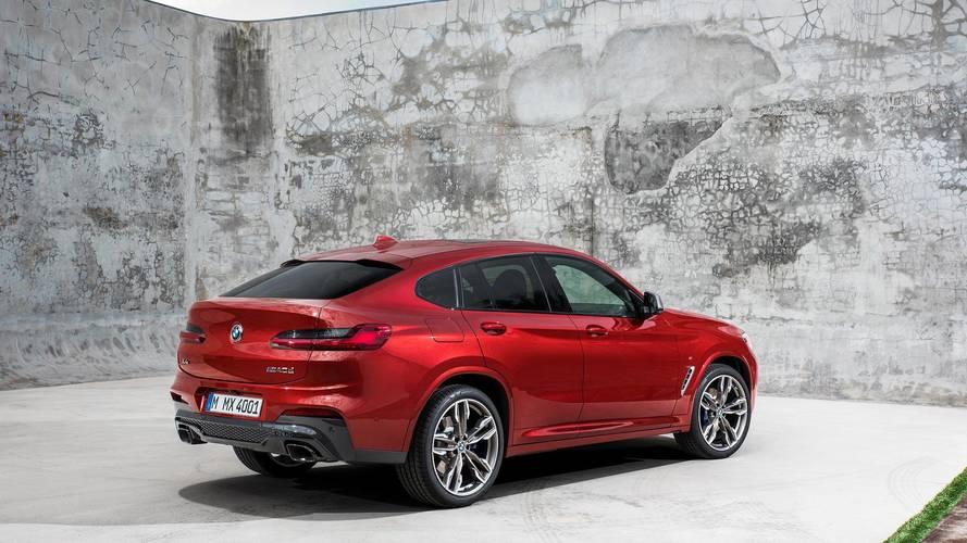 New BMW X4 cuts a sporty SUV shape at Geneva motor show