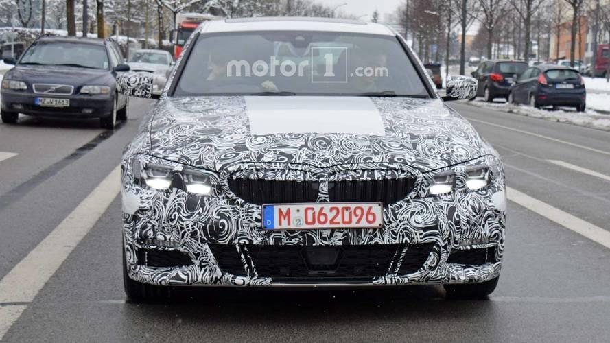 BMW Série 3 2019 - Melhor flagra até agora