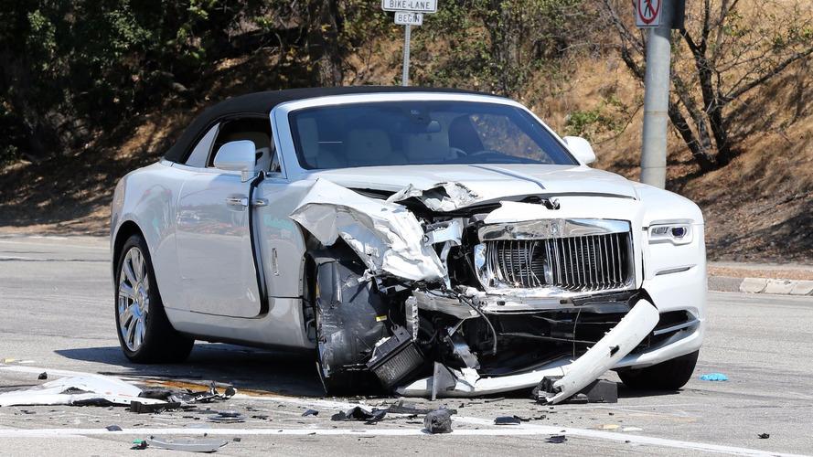 Kris Jenner victime d'un accident avec sa Rolls