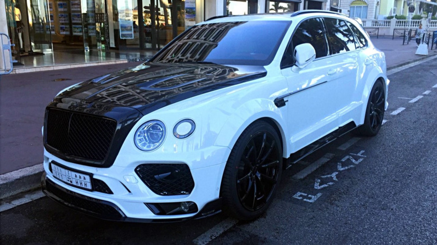 Le Bentley Bentayga par Mansory surpris en France !