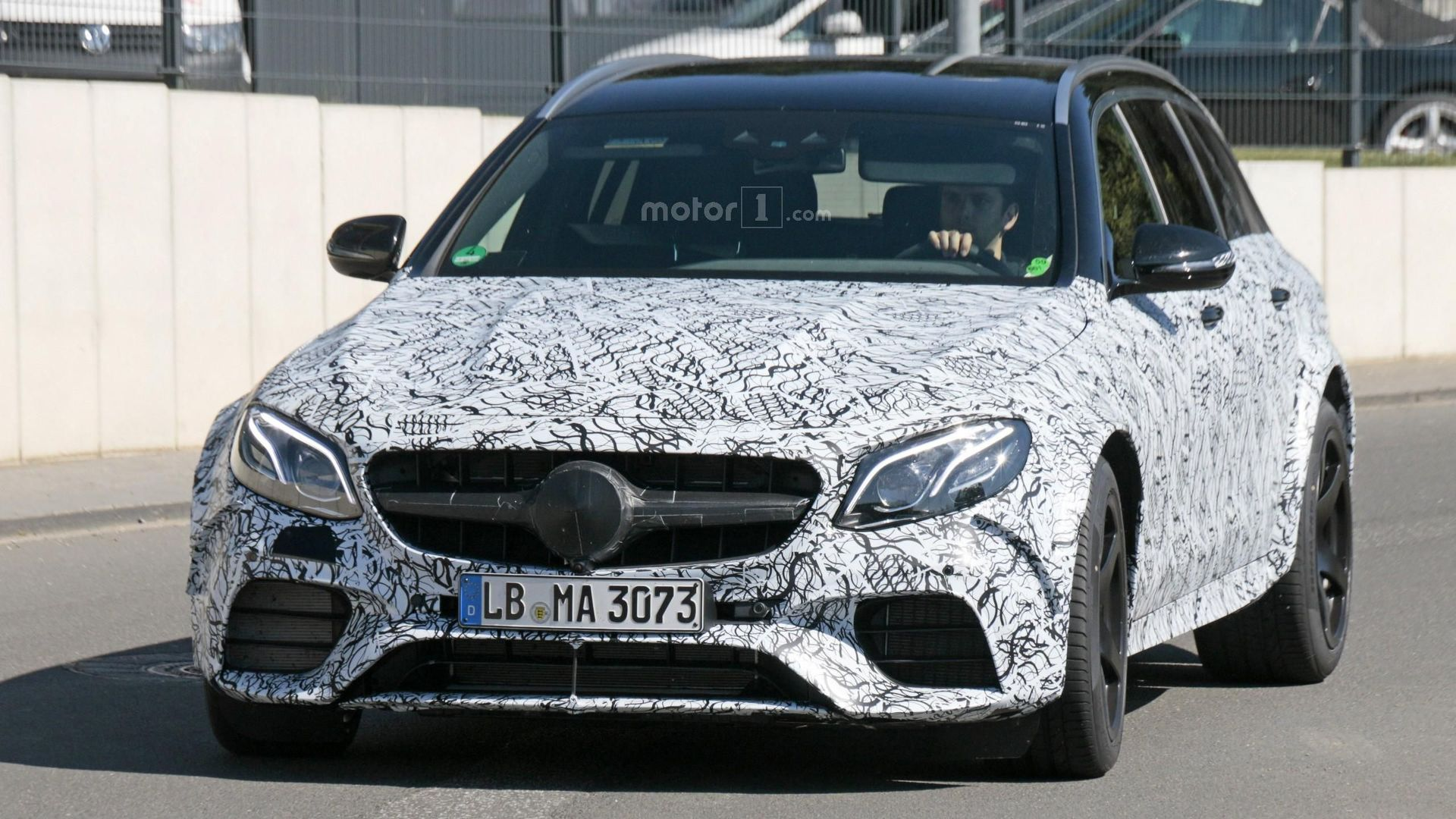 we spy a more hardcore mercedes-amg e63 estate