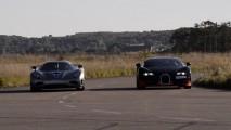 1200 beygirlik Bugatti Veyron Vitesse ve Koenigsegg Agera'nın kapışması