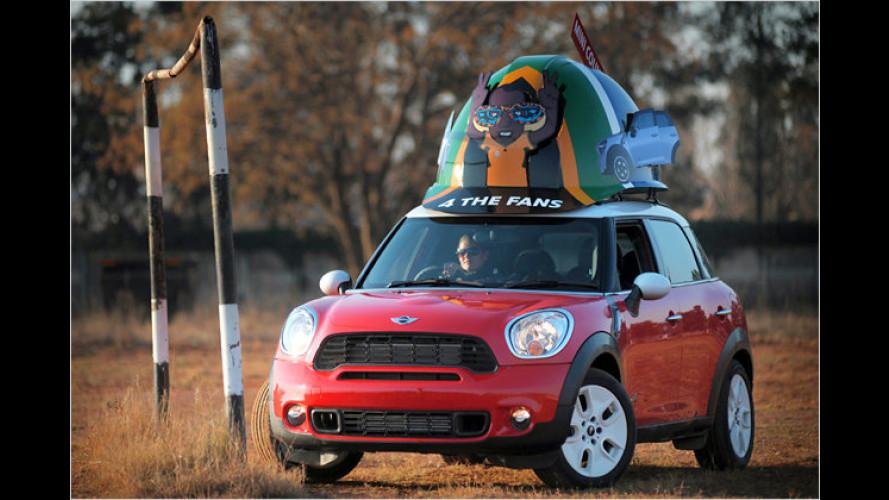 Mini Countryman mit besonderem Hut