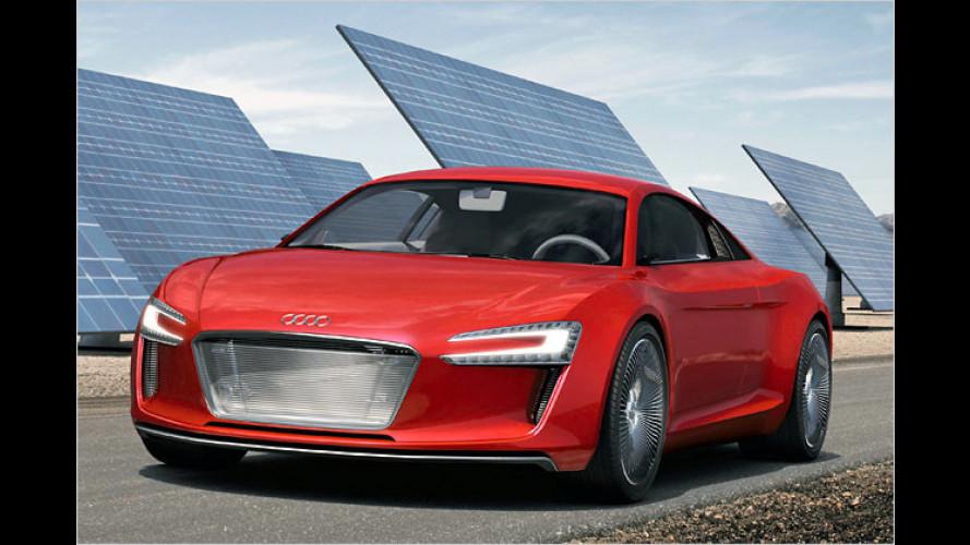 Audi e-tron: Scharfer Strom-Sportler auf der IAA 2009