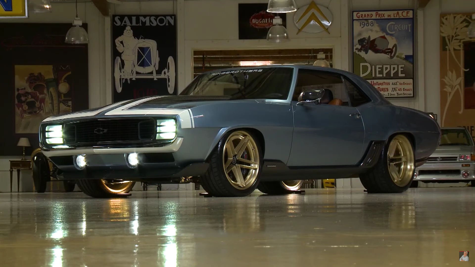 Ringbrothers 1969 Chevy Camaro G Code Hits The Spot For