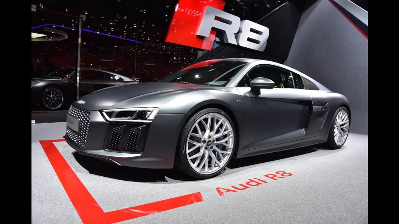Novo Audi R8 Coupe começa a ser vendido no Brasil em dezembro