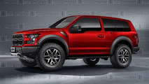 2018 Ford Bronco rendering