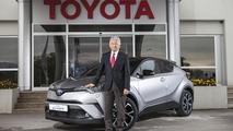 Hiroshi Kato ve Toyota C-HR