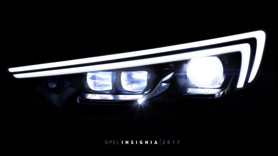 2017 Opel Insignia'nın LED sayısı Astra'nın iki katı