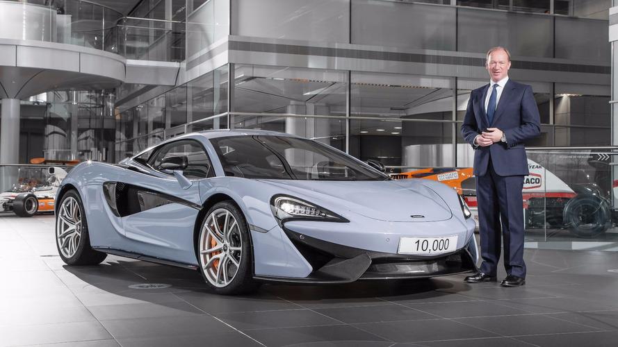 McLaren 570S - 10,000'inci McLaren