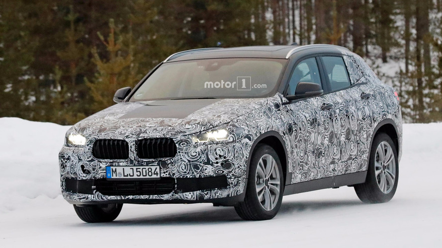 BMW X2 Spy Shots in WInter