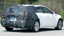 Cadillac CTS Wagon Spy Photo