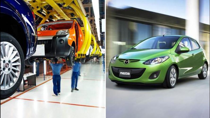 Le Mazda potranno nascere negli stabilimenti Fiat-Chrysler