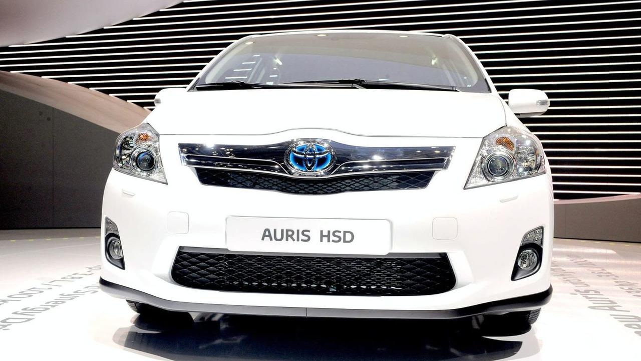 2010 Toyota Auris HSD in Geneva