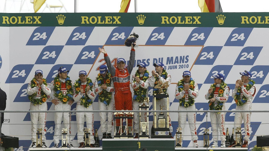 Audi upsets Peugeot with sweeping victory at 24 Hours of Le Mans