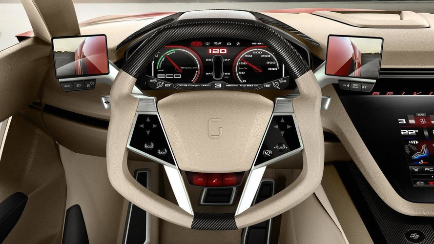 Italdesign Giugiaro Brivido concept revealed in Geneva [video]