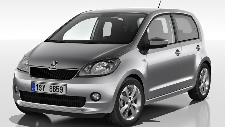 Skoda Citigo 5-door previewed ahead of Geneva debut