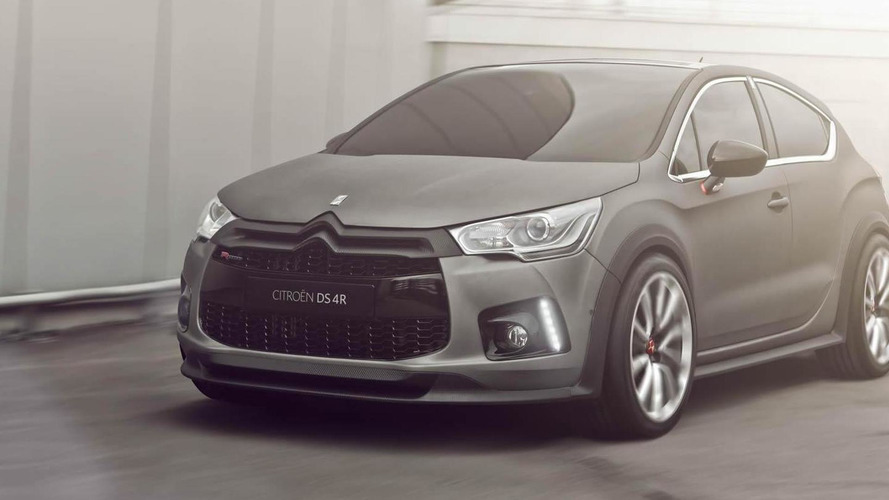 Citroen DS4 Racing Concept unleashed before Geneva