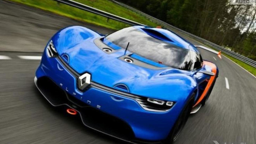 Renault Alpine A110-50 leaked yet again