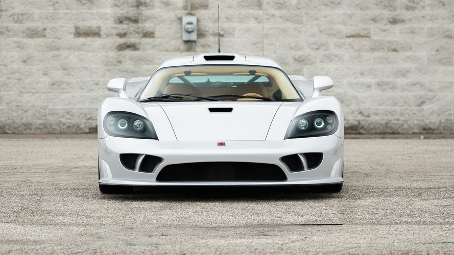 Auction-bound Saleen S7 is literally one of a kind [27 photos]