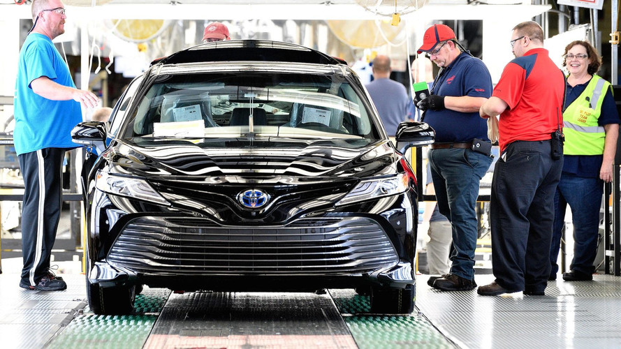 2018 Toyota Camry Kicks Off Production In Kentucky