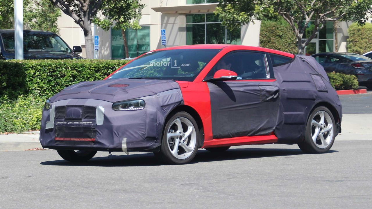 2019 Hyundai Veloster / Turbo Spy Shots