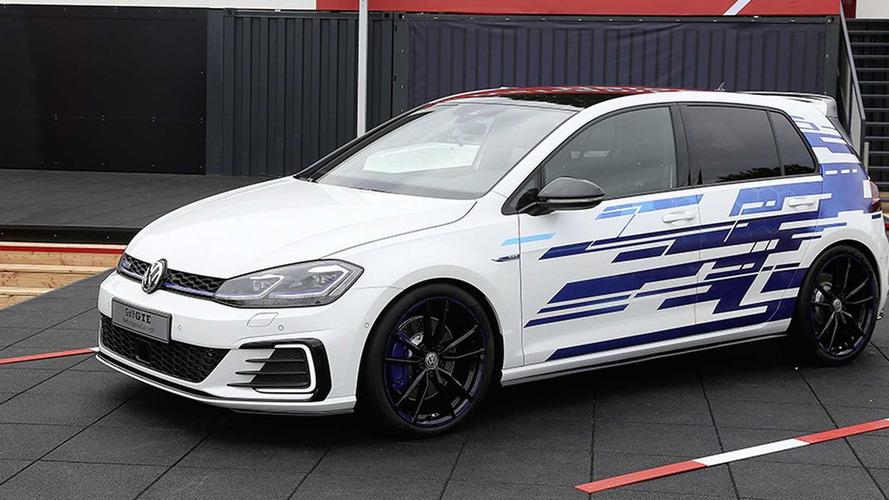 Golf GTE konsepti Worhersee'ye hibrit gücü getiriyor