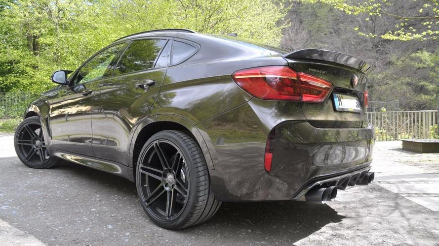 Manhart offre 700 ch au BMW X6 M
