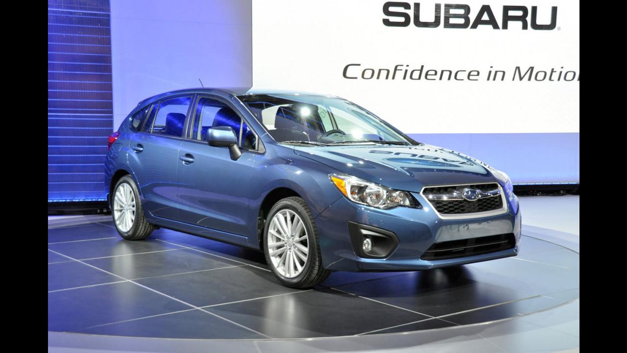 Subaru Impreza al Salone di New York 2011