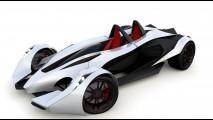 RON RXX, piccola supercar messicana che si ispira alle vetture inglesi in stile