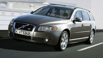Volvo V70 Illustration