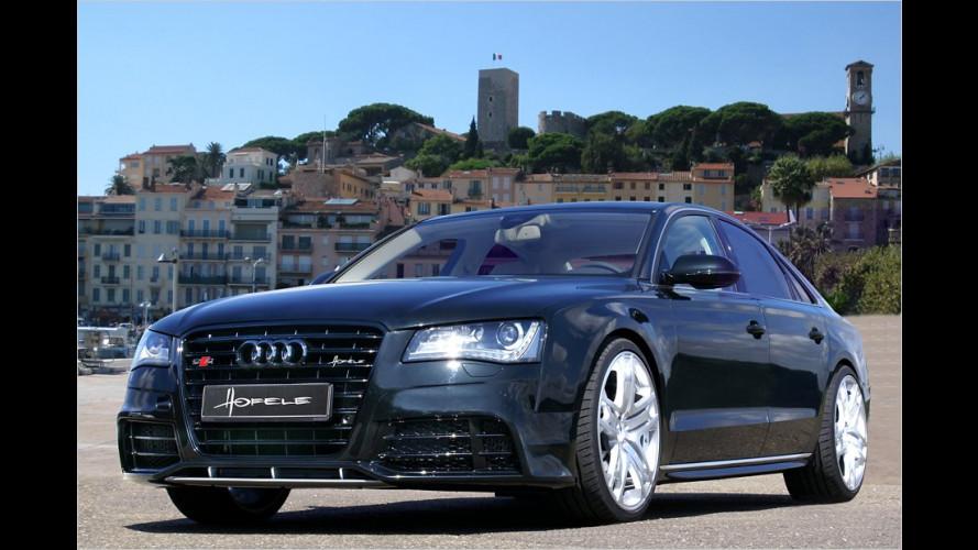Wolf im Wolfspelz: Hofele packt Audi A8 in einen Sport-Dress