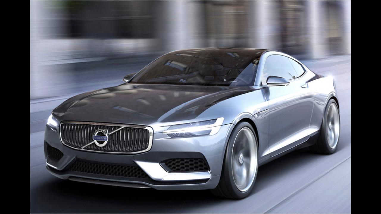 Schickes Volvo-Coupé