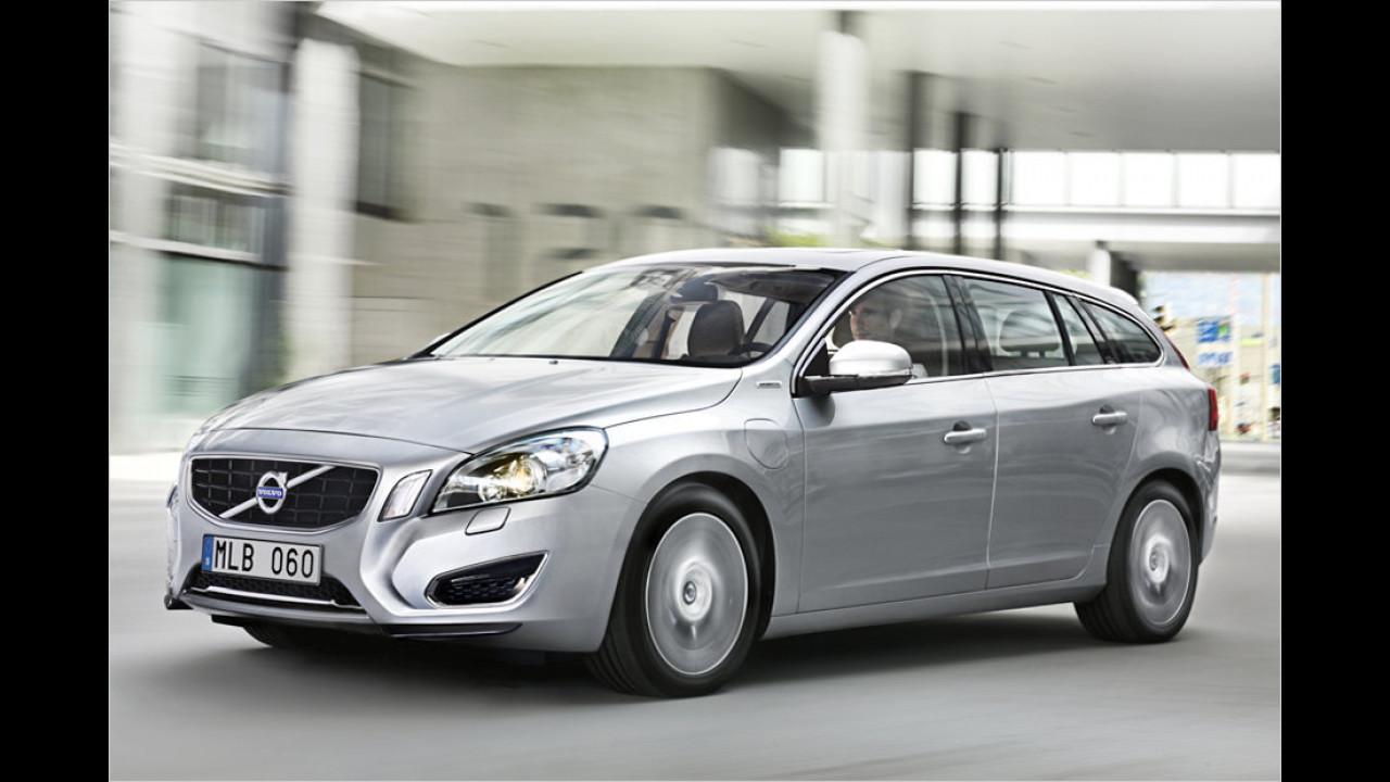 Platz 3: Volvo V60 Plug-in Hybrid