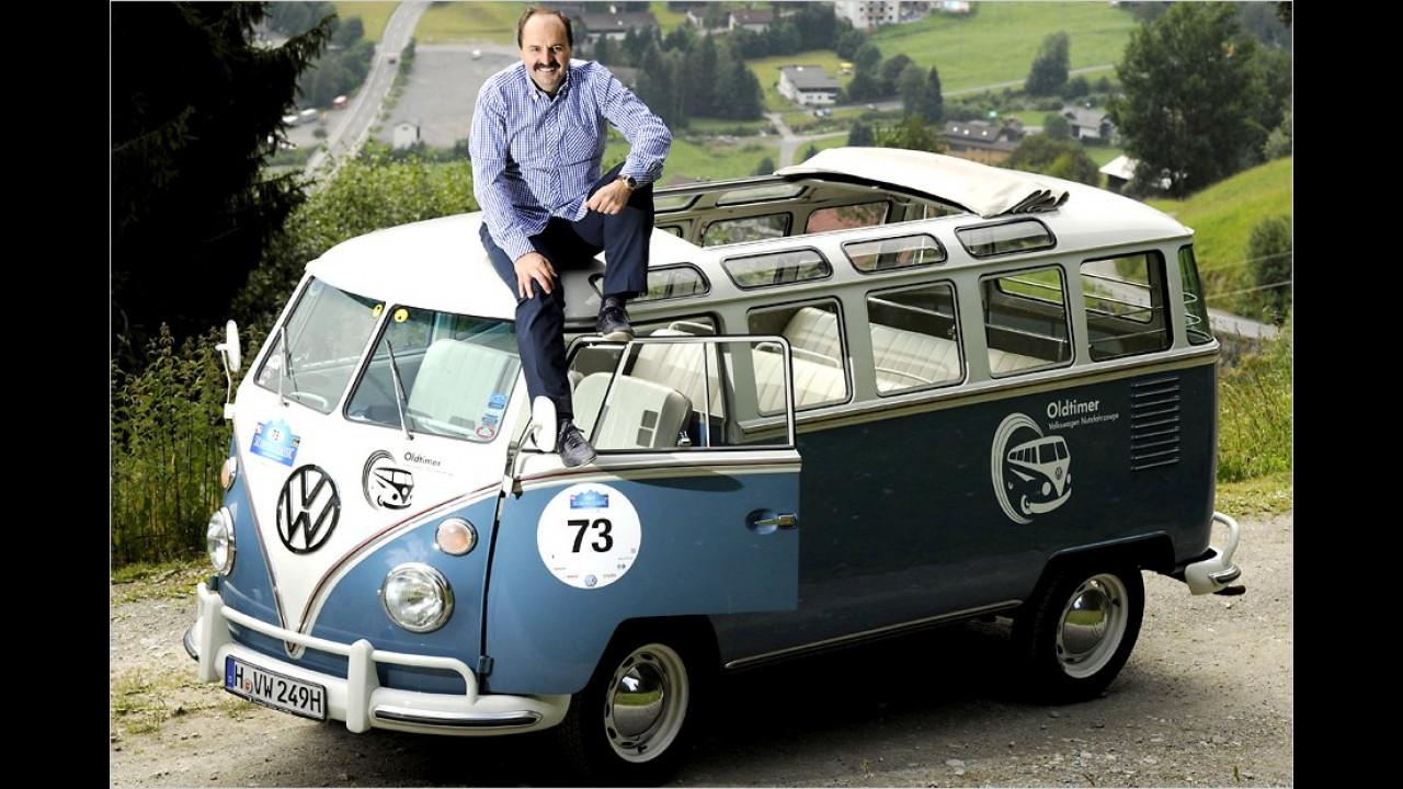 Johann Lafer: VW T1-Samba-Bus
