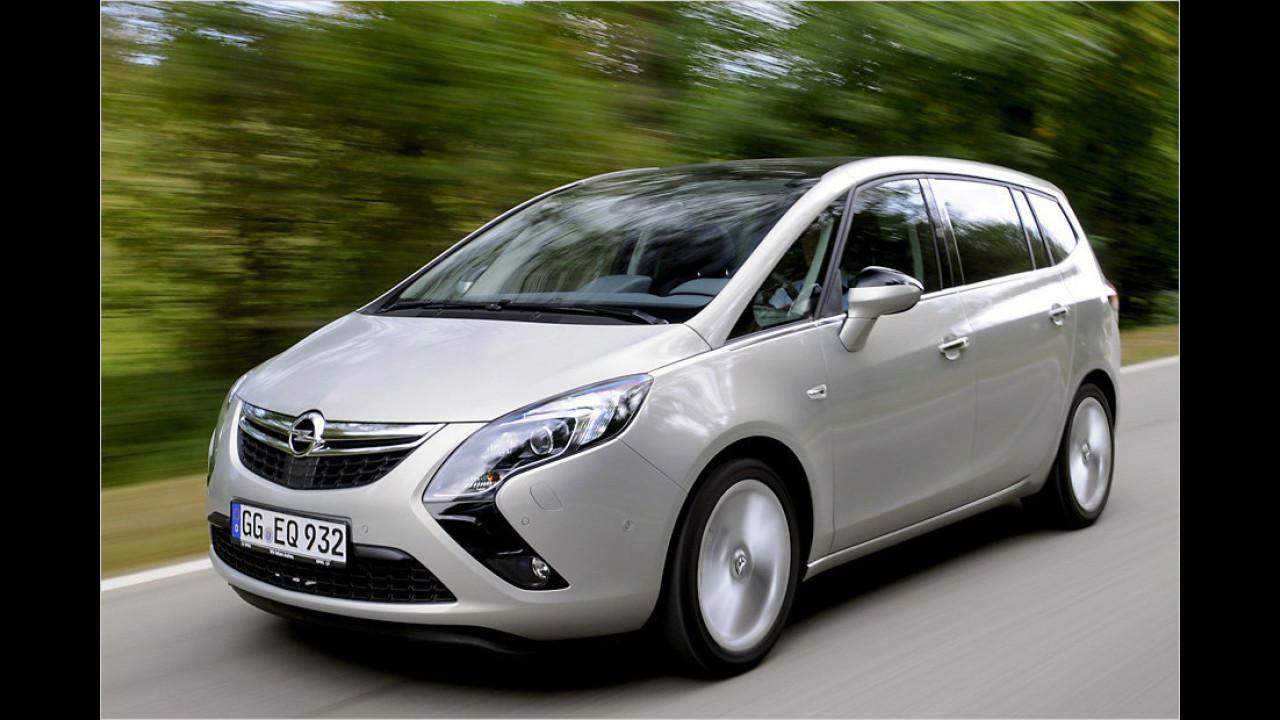 Die besten Siebensitzer, Platz 2: Opel Zafira Tourer 1.6 CDTI ecoFLEX, 6,15 Punkte