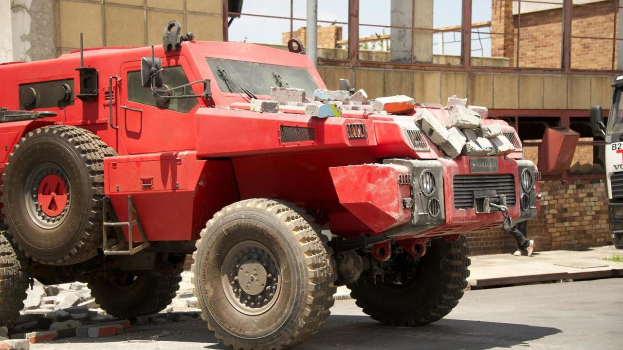 Paramount Group Marauder armored vehicle on Top Gear, 1280, 27.06.2011