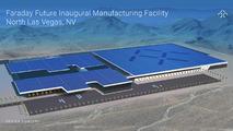 Faraday Future plant rendering