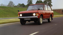 Four generations Land Rover Range Rover