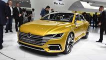 Volkswagen Sport Coupe Concept GTE at 2015 Geneva Motor Show