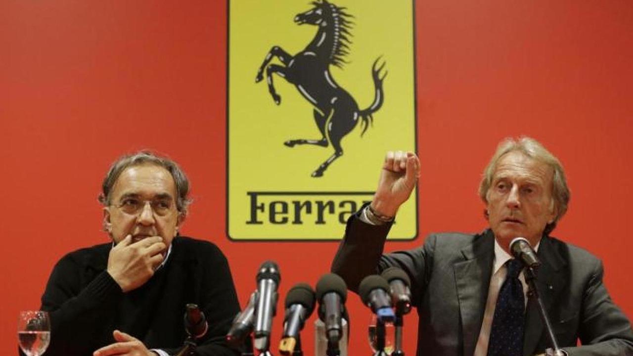 Luca di Montezemolo and Sergio Marchionne / sportlive.it