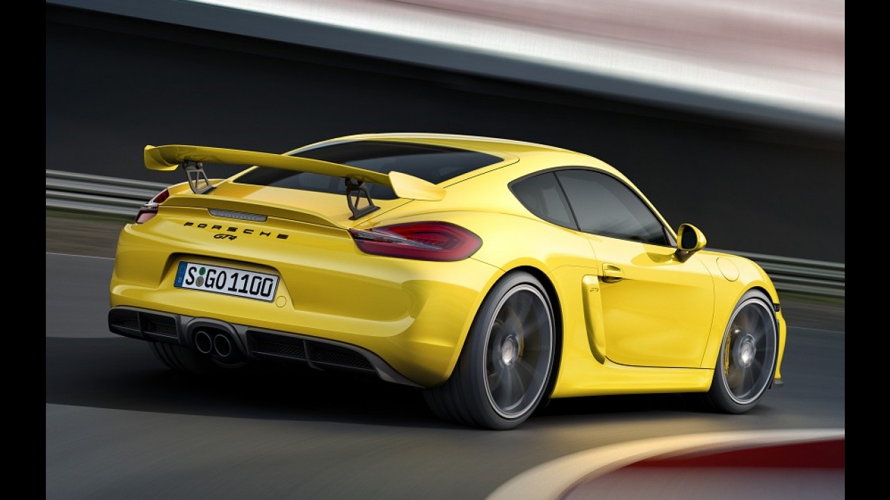 Porsche mostra detalhes do Cayman GT4 em ação - vídeo
