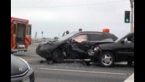 Honda CR-V de testes se envolve em acidente nos Estados Unidos