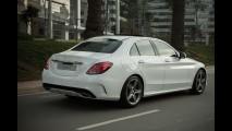 Recém-lançado, Mercedes Classe C tem recall no Brasil por falha na direção