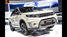Suzuki Vitara com visual completamente novo aparece ao vivo - veja fotos