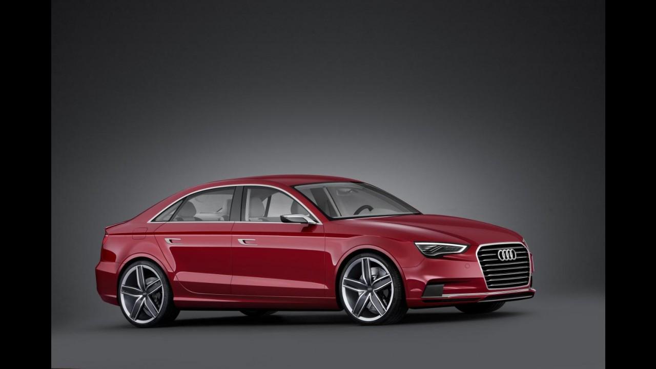 Audi A3 Sedan em versão de produção será revelado em março no Salão de Genebra