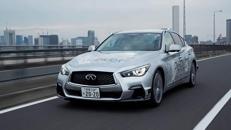 Nissan's autonomous tech has taken to the streets