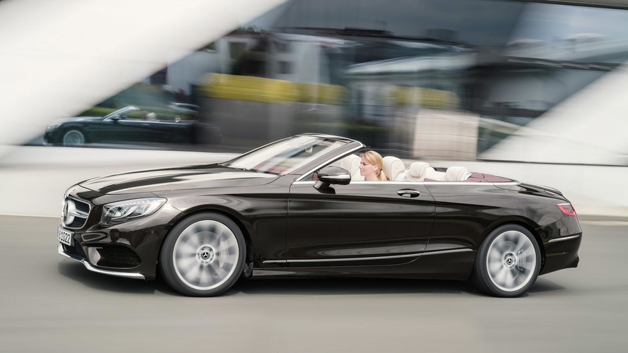 Refreshed 2018 Mercedes S-Class Cabriolet Revealed